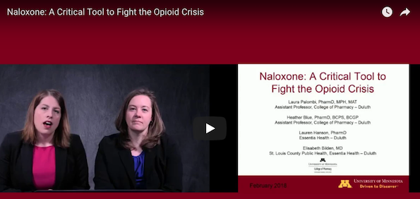 Naloxone: A critial Tool to Fight the Opioid Crisis